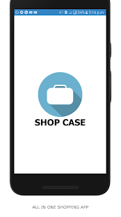 SHOP CASE | ALL IN ONE SHOPPING APP | ONE DOT - náhled