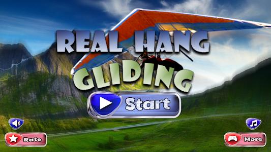 Real Hang Gliding : Free Game screenshot 0