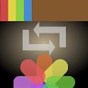 Picstagrab repost - regram icon