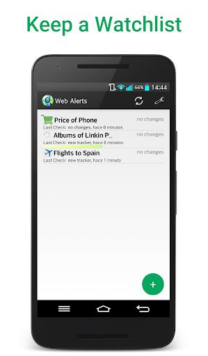 Web Alert (Website Monitor) screenshots 1