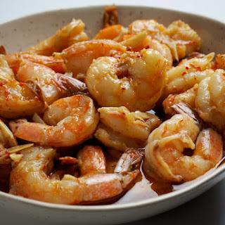 Slow-Cooker Garlicky Shrimp Recipe