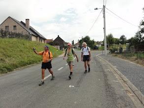 Photo: De 3 musketiers op de 100 km des 5 Clochers