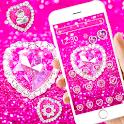 Pink Diamond Shiny Theme 💞 icon