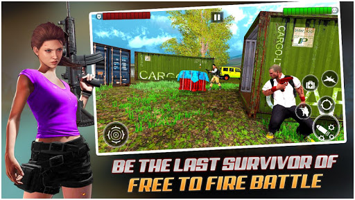 Royale Firing Survivor Squad Battle: Firing games 1.0.3 screenshots 1