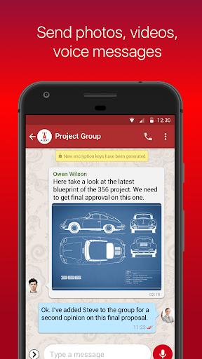 Vega Messenger 1.4.0 screenshots 2