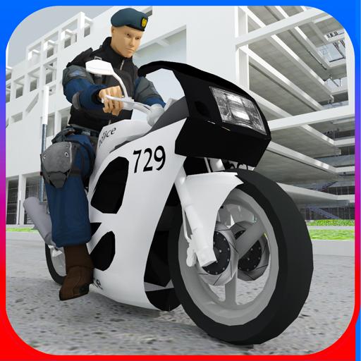 Police Traffic Rider 3d 模擬 LOGO-玩APPs