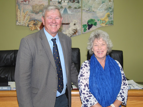 Narrabri Shire Mayor Conrad Bolton has re-elected for another term. Cr Cathy Redding will serve as deputy mayor. once again.