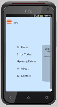 Download ATM Error Code - Hyosung Codes APK latest version