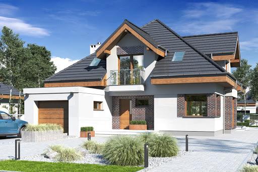 projekt Nowa z garażem 1-st. A1