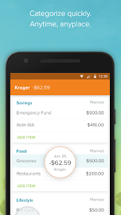 EveryDollar: Monthly Expense Tracker & Manager- screenshot thumbnail