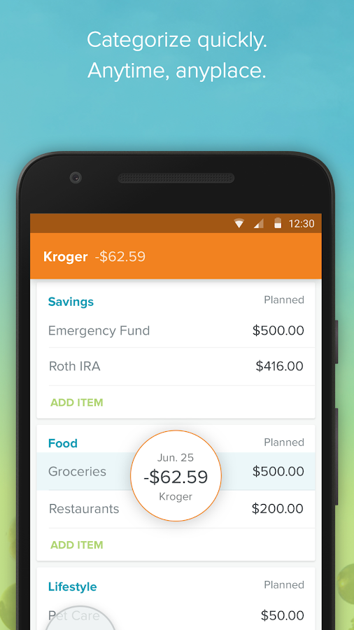 EveryDollar: Budgeting- screenshot