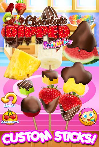 Chocolate Dipped Fruit Candy Maker Kids FREE  screenshots EasyGameCheats.pro 1