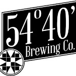Logo for 54°40' Brewing Company