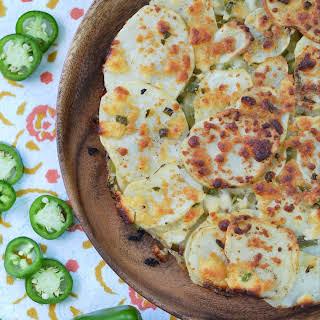 Jalapeño & Cotija Cheese Potato Stack Pie.