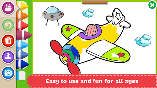 Coloring Book - Kids Paint screenshot 12