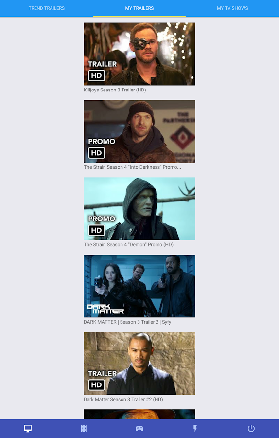 Daily Trailers - tv shows, movies & games trailers- screenshot