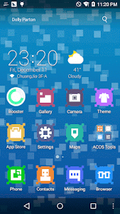 Pixel ACOS Theme screenshot 0