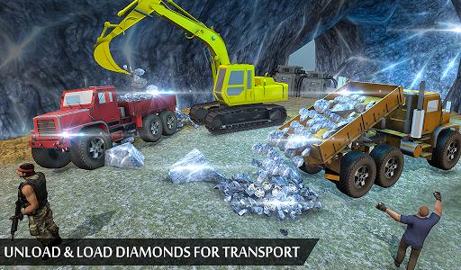 Grand Excavator Simulator - Diamond Mining 3D screenshot 12