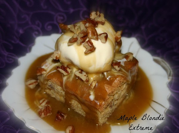 Maple Blondies Extreme Recipe