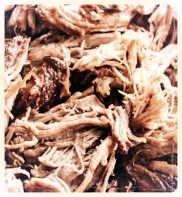North Carolina BBQ Pork in the Smoker