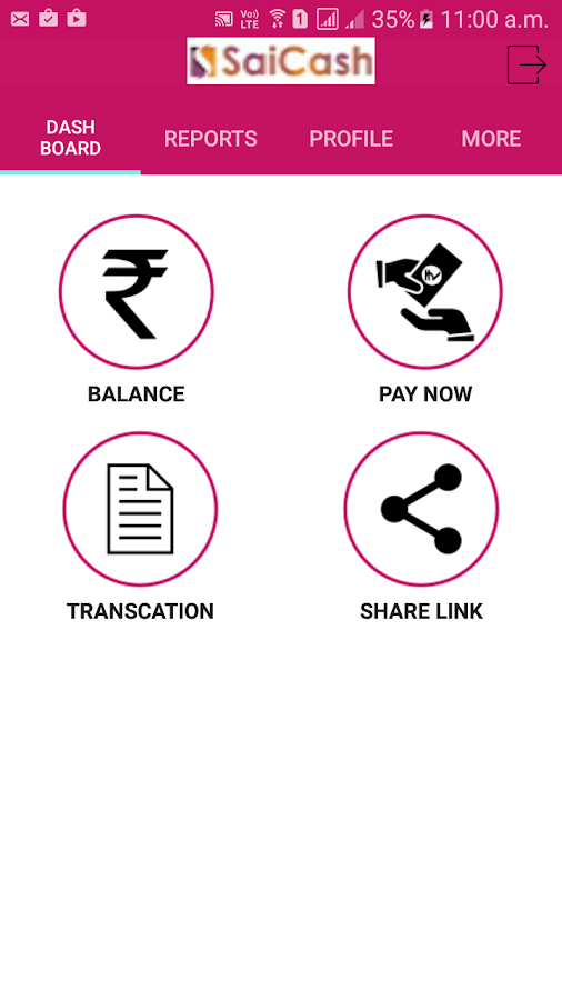 Sai Cash M-Pay- screenshot