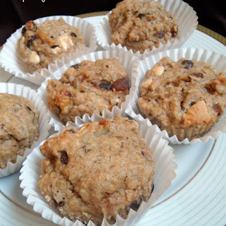 Whole Wheat Raisin Spice Nut Muffin