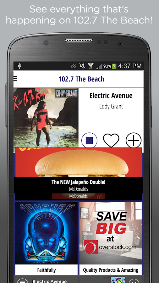 102.7 The Beach - WMXJ- screenshot