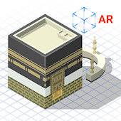 Qibla AR (First Augmented Reality Qiblah Compass)