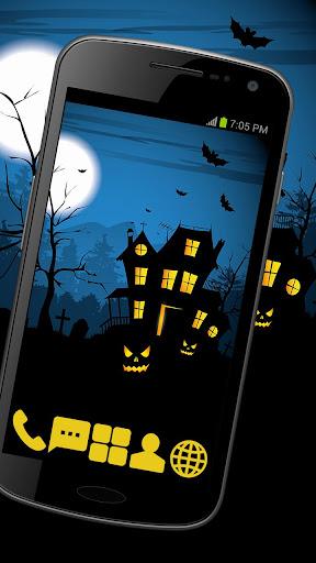 Scare House Theme GO ADW APEX