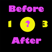 After Before Numbers for Pre-school