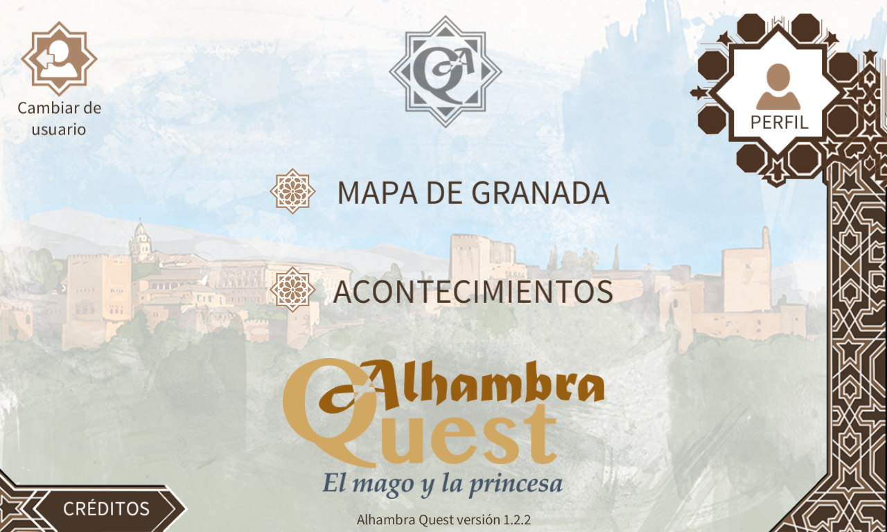 Alhambra Quest- screenshot