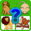 Guess the animal quiz icon