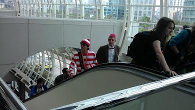 Photo: Floor - Looks like the Doctor found Waldo!