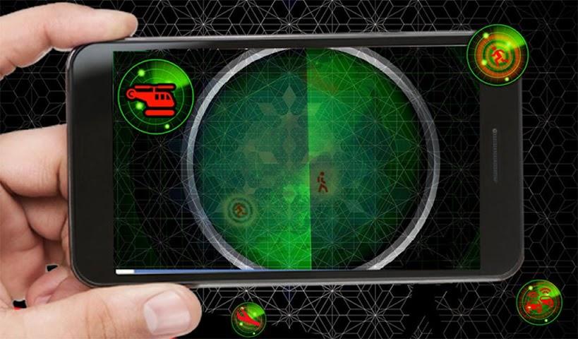 android Radar Scanner 3d Sim Prank Screenshot 12