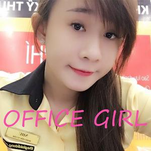 Office Girl Wallpaper