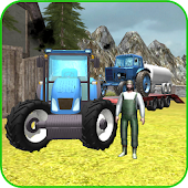Farming 3D: Tractor Transport