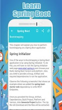 Learn Spring Boot screenshot thumbnail