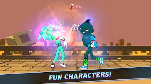 Duel Heroes - Stickman Batle Fight 1.3 screenshots 1