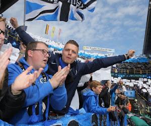 Le tifo de Champions du Club de Bruges ! (vidéo)