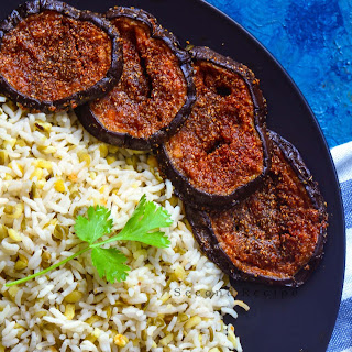 Tariyal Vangan-Sindhi Style Brinjal Fry Recipe