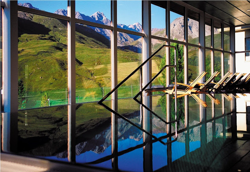 Photo: Arosa Kulm Hotel (Arosa, Switzerland) http://bit.ly/11wBb0M ©Alpin Spa im Arosa Kulm Hotel