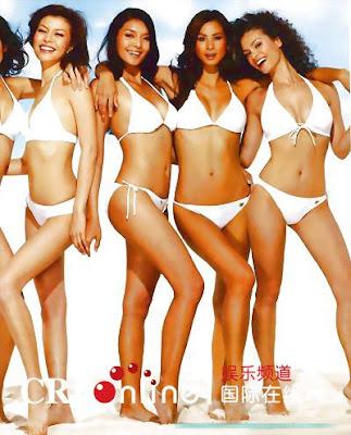 supermodel bikini pictorials