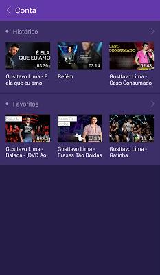 Gusttavo Lima–música e vídeos - screenshot