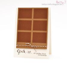 Photo: http://bettys-crafts.blogspot.com/2016/03/gluck-ist-ein-groes-stuck-schokolade.html