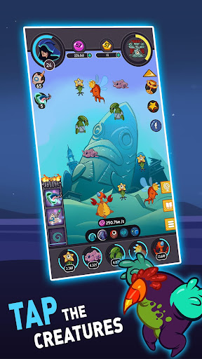 Tap Temple: Monster Clicker Idle Game apkmr screenshots 1