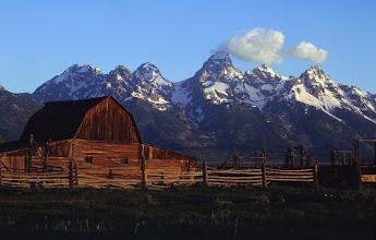 Photo: Mormon Row Barn, Grand Teton National Park, Wyoming