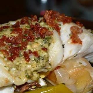 Garlic Butter Roast Cod.