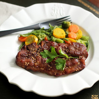 Hoisin Roasted Pork Steaks
