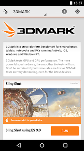 3DMark - The Gamer's Benchmark- screenshot thumbnail
