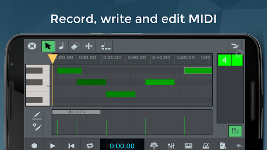 n-Track Studio 8 Music DAW- screenshot thumbnail